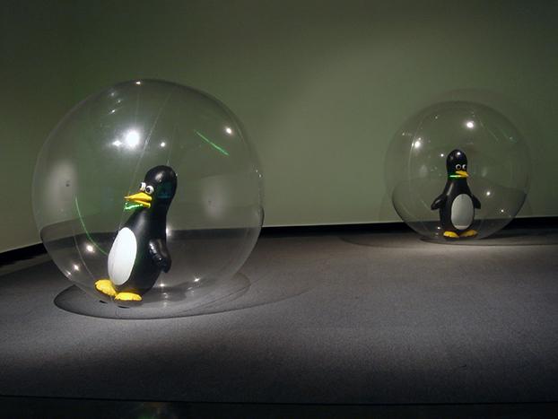 OVD penguin ball